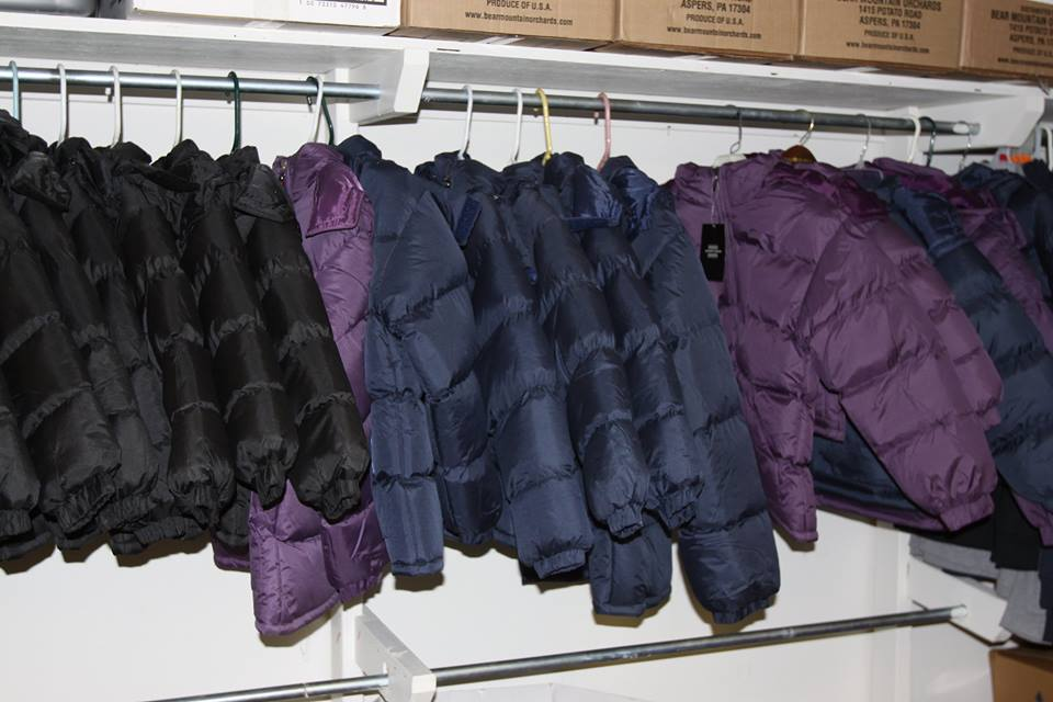 Winter Coats Make for Warm Kids and Adults, and Warm Hearts