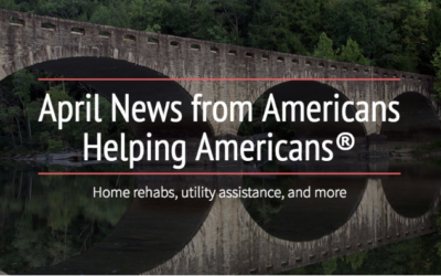 April News from Americans Helping Americans