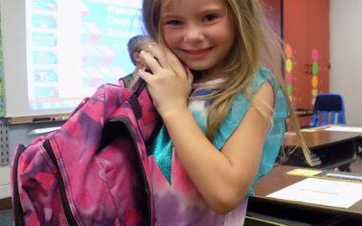 Backpacks for George's Creek Elementary School