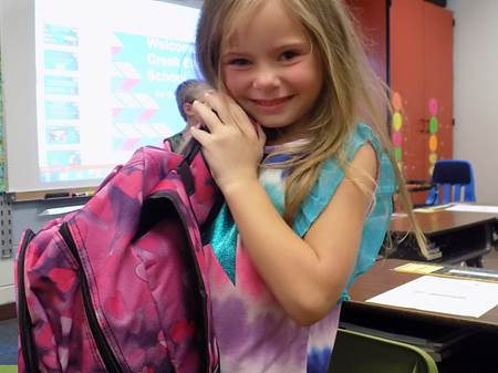 Backpacks for George's Creek Elementary School