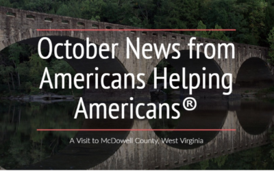 October News from Americans Helping Americans