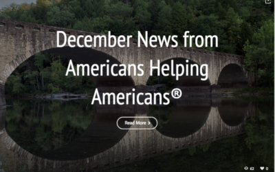December E-News- A better road for Barb, our newest partner and more…