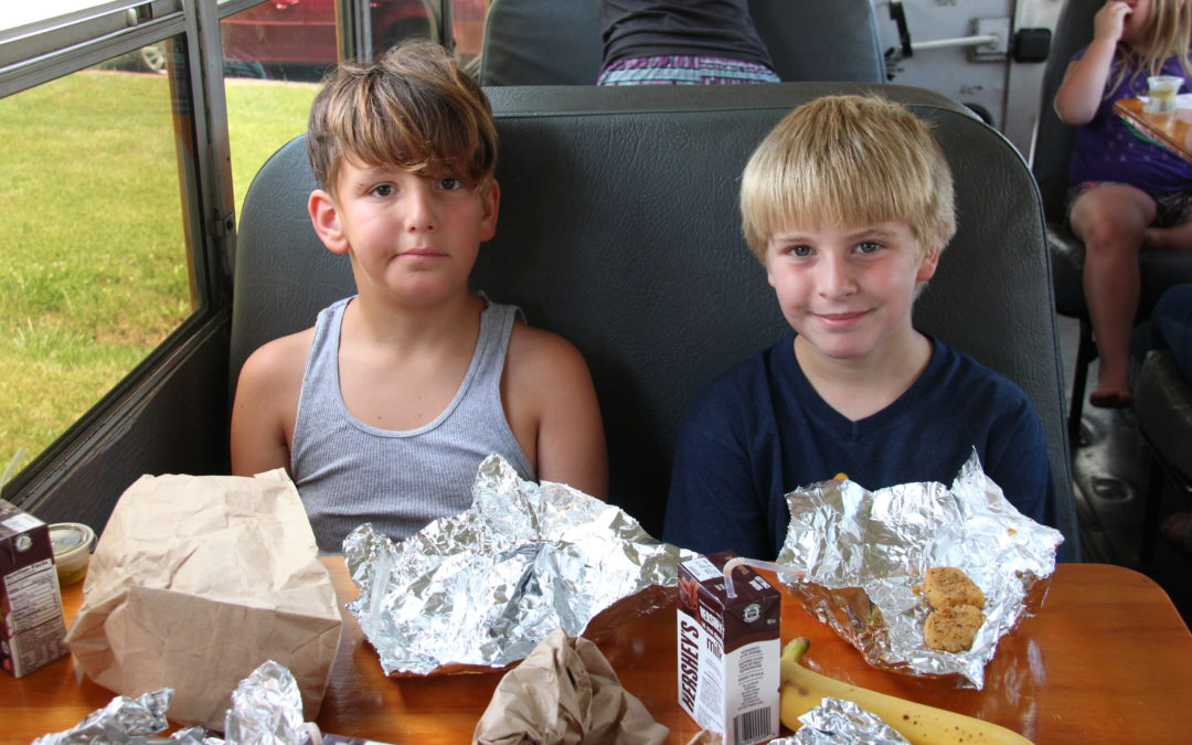 Summer Food Program for Children in Appalachia