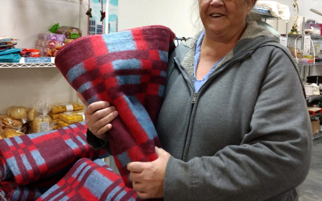 A Simple Blanket Makes Diane's Day in Tennessee