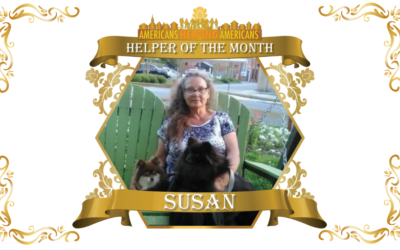 Congratulations to Susan Murray – Helper of the Month for December!